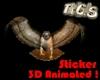 Flying Hawk Animated
